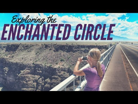 The Enchanted Circle in New Mexico ⛰ RV Living Full Time 🚐 Taos, Angel Fire & Red River