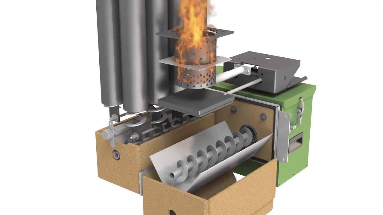 Integra28: la nuova caldaia a pellet da 28 kW by Ravelli - YouTube