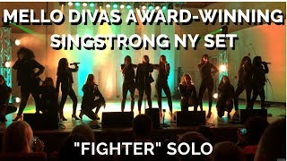 Addison Aloian & the Mello Divas Award-Winning SingStrong NY Competition Set