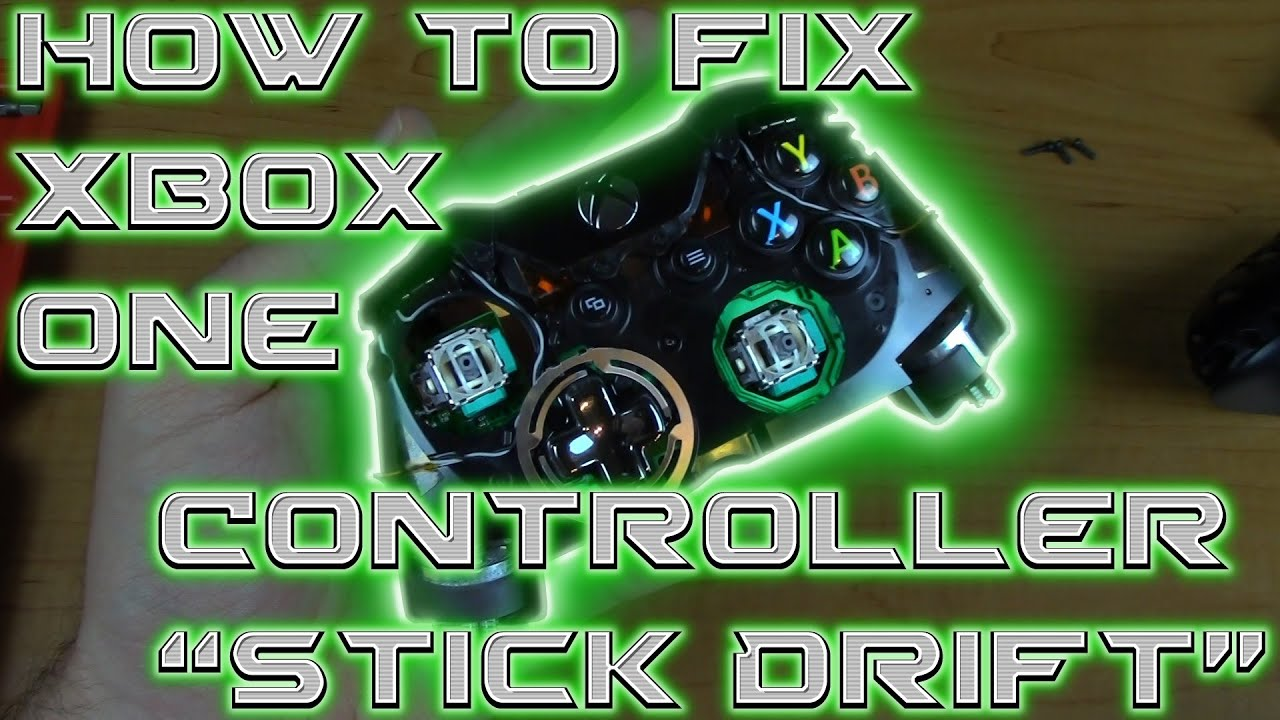 how to fix xbox one controller stick drift