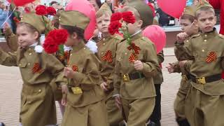 9 мая парад Дмитров 2019