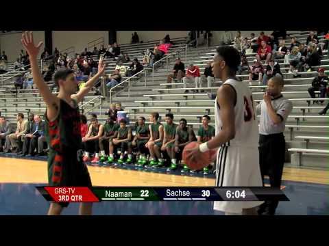 Garland ISD: Basketball Naaman vs Sachse Boys Varsity