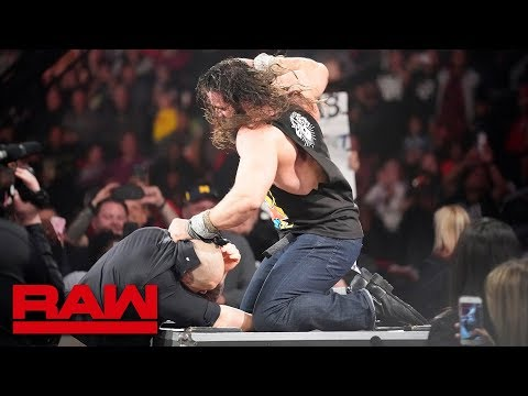 Elias tells Baron Corbin his time is up: Raw, Dec. 31, 2018
