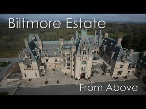 CineChopper -  Biltmore Estate - Asheville, North Carolina - From Above
