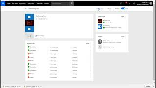 Quickly create an on boarding solution with microsoft flow : electronic signature & generate contracts (with adobe sign), creating users in azure active dire...