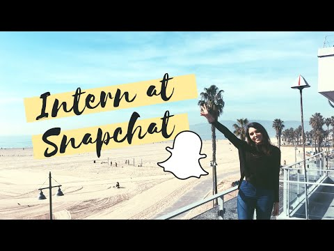 Day In The Life of Software Engineering Intern @ Snapchat | Los Angeles, CA