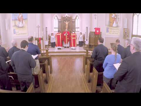 The Form Of The Divine Service 1st Draft- An Instructional Video For Seminarians And Pastors