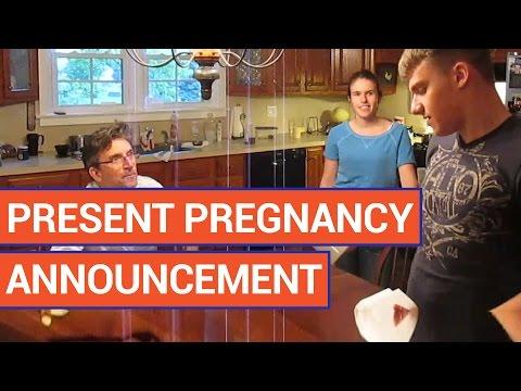 Amazing Surprise Pregnancy Announcement 2016 | Daily Heart Beat