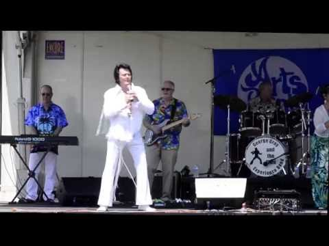 George Gray & Elvis Experience Band at Greeley Arts Picnic