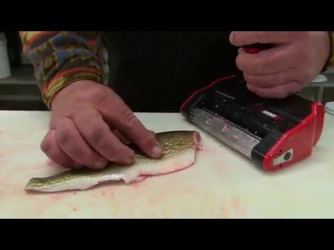 Midwest outdoors tv show 1576 tip on the skinzit fish for Skinzit fish skinner