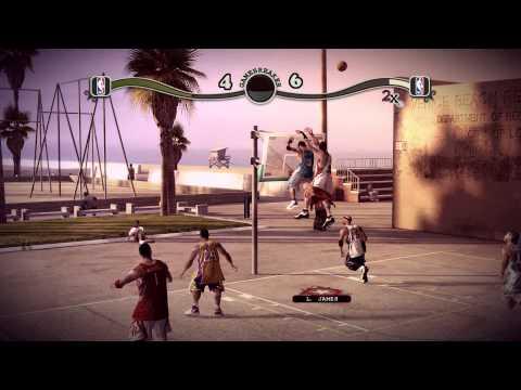 (HD) NBA Street Homecourt Gameplay (XBOX 360)