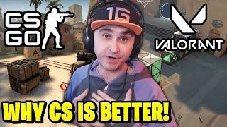 Summit1g explains why CS:GO Iṡ Better Than Valorant!