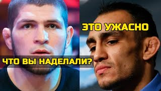 Реакция Хабиба и Тони на отмену турнира! Нурмагомедов и Фергюсон отреагировали на отмену турнира