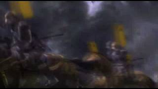 SAMURAI WARRIORS: STATE OF WAR (PSP) OPENING INTRO