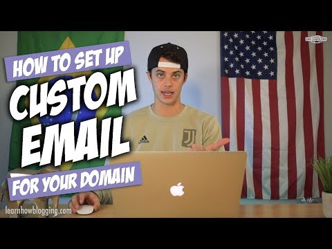 How To Set Up Email With Your Own Domain Name
