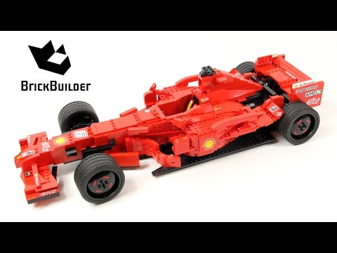 Lego Racers 8157 Ferrari F1 Special 400 000 Subs Youtube