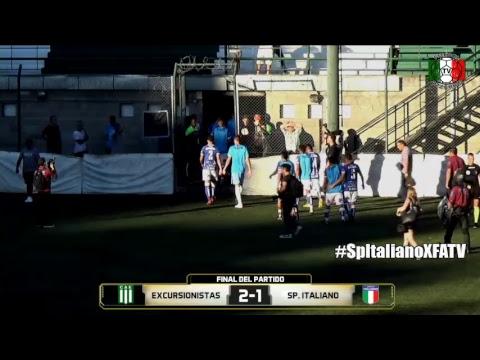 Futbol Azzurro TV - Excursionistas ante Sp Italiano