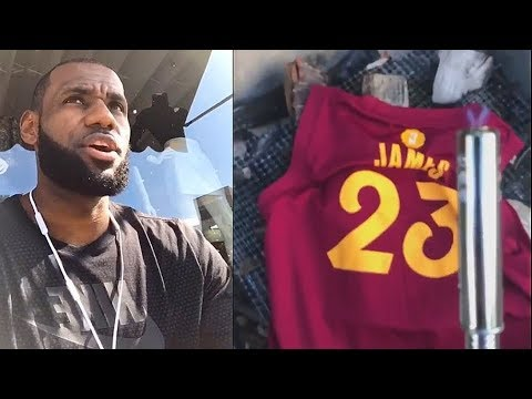 best website d6f3b 01865 LeBron James Thanks Cleveland After Joining Lakers & Cavaliers Fans Don't  Burn His Jersey!