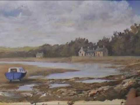 Acrylic Tutorial – Red Wharf Bay (Part 3)