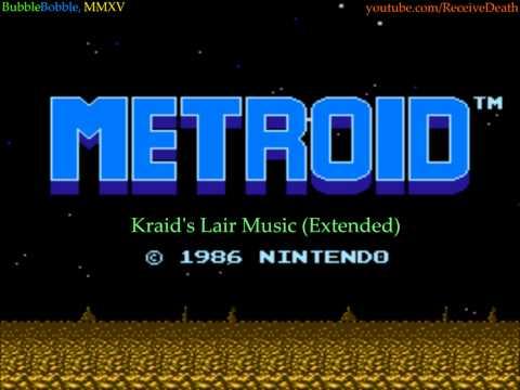 Metroid (NES) - Kraid's Lair Music (Extended OST)