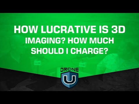 How lucrative is 3D imaging? How much should I charge?