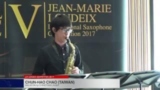 Londeix 2017 – Chun Hao Chao (Taiwan) – Balafon by Christian Lauba