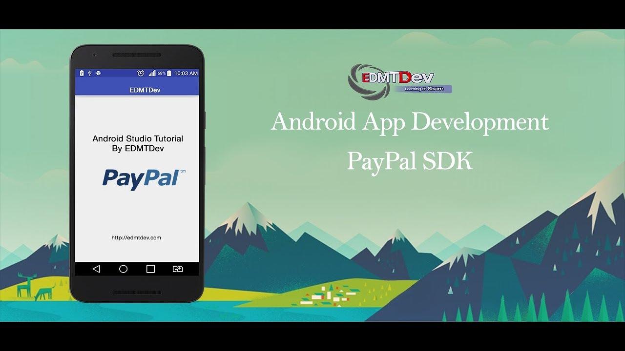 Android Studio Tutorial - Paypal SDK Intergration