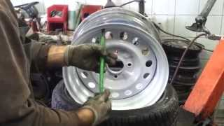 Repeat youtube video 195/45/15 on 8j steel rims