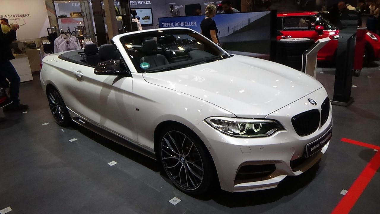 2017 bmw m240i convertible performance exterior and interior essen motor show 2016 youtube. Black Bedroom Furniture Sets. Home Design Ideas