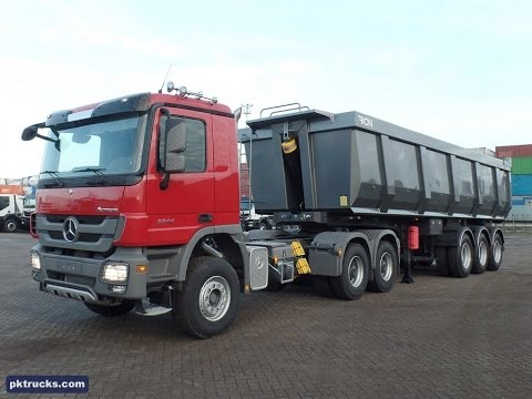 Me3859 Mercedes Actros 3344 S 6x4 Tractor Head New Youtube