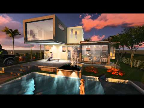 Caribbean Area House Short Tour, Modern Concept