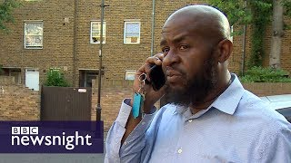 In search of missing relatives at Grenfell Tower – BBC Newsnight
