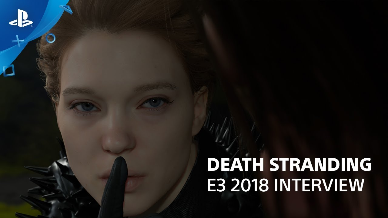 Death Stranding Interview with Hideo Kojima and Hermen Hulst | PlayStation Live From E3 2018