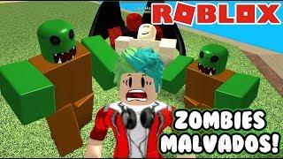 Escapa de los Zombies - France Zombie Attack en Roblox - France Gameplay Juegos Roblox