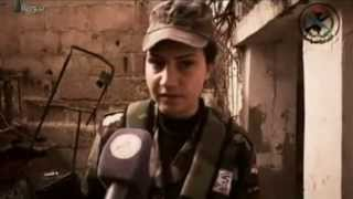 Syrian Female NDF in Training and Combat Operations