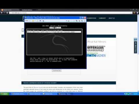 Step-by-Step: Howto: Installing Kali Linux in VMware Player