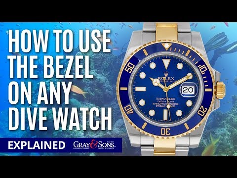 How To Use A Diver's Watch Bezel On Any Dive Watch! Tutorial