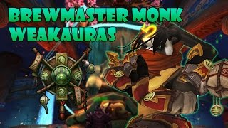 Legion Brewmaster Monk Tank Weakauras 20 updated for 725