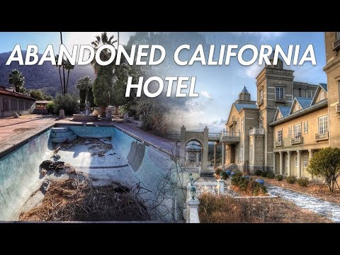FOUND ABANDONED HOTEL CALIFORNIA, EXPLORING JOSHUA TREE