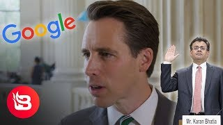 Sen. Hawley: Google's 'Much Worse Than I Thought It Was' on Censorship I Capitol Hill Brief