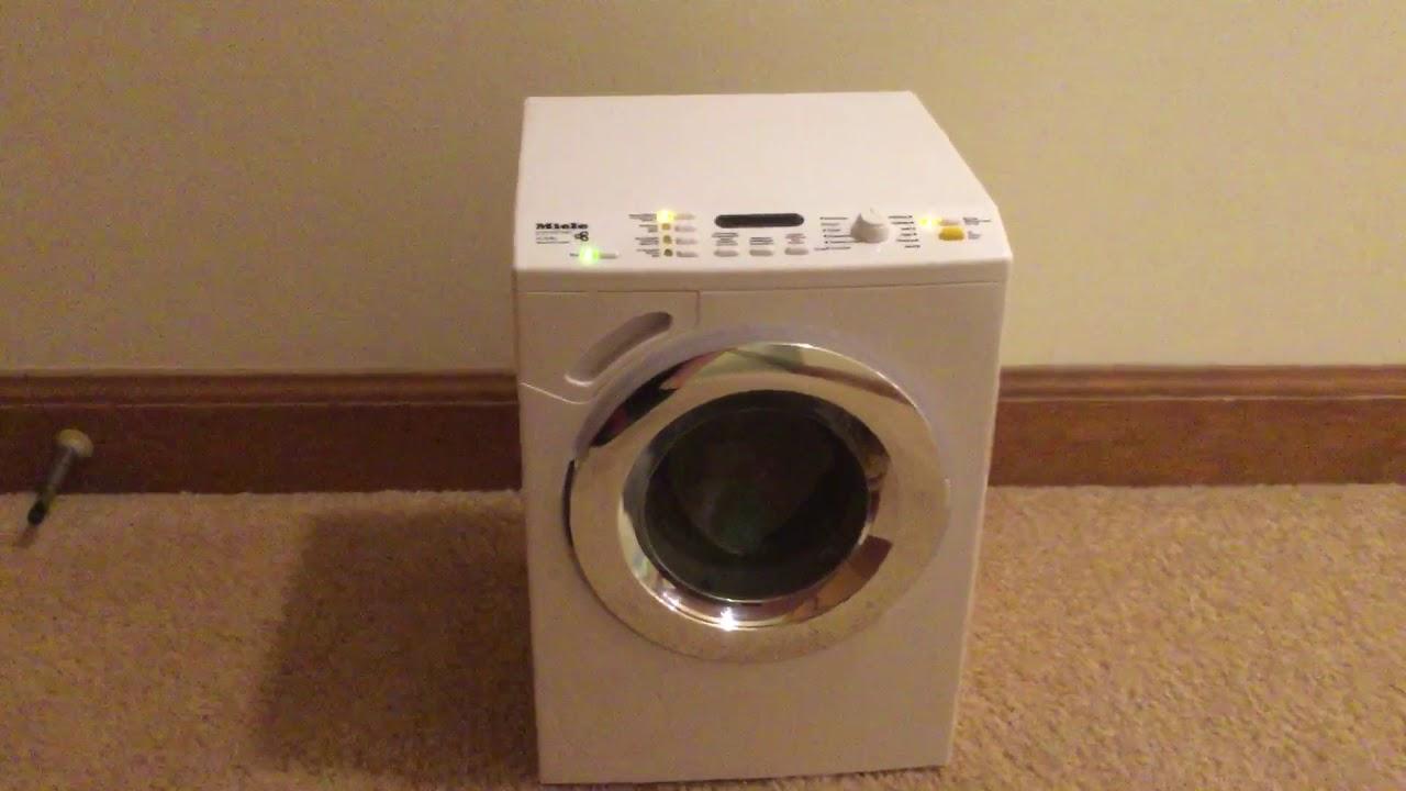 miele w4146 toy washing machine youtube