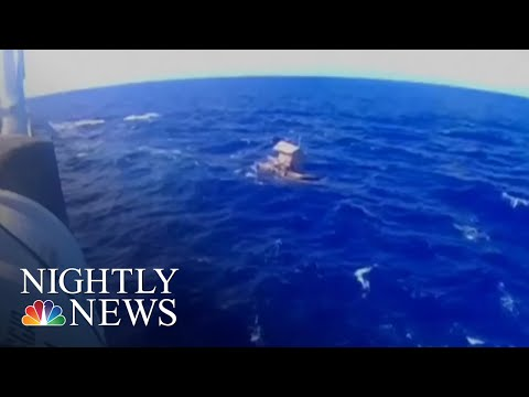 Teen Survives 49 Days Adrift In Pacific Ocean | NBC Nightly News