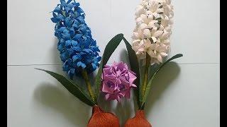hyacinth paper flower hướng dẫn lm hoa tin ng từ giấy nhn