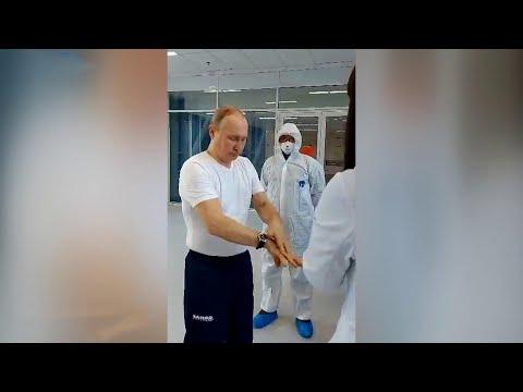 Медики в Коммунарке рассказали президенту, какие меры помогут защитить себя от инфекции.