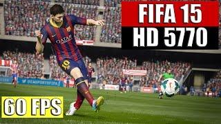 FIFA 15 Test / Radeon 5770 - AMD Phenom II X4 955 / ULTRA Settings 1080P
