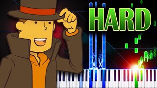 Layton's Theme (from Professor Layton and the Curious Village) - Piano Tutorial