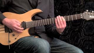 Fast Fingers - Speed Picking Exercise, A Minor Pentatonic Scale, slow - medium - fast