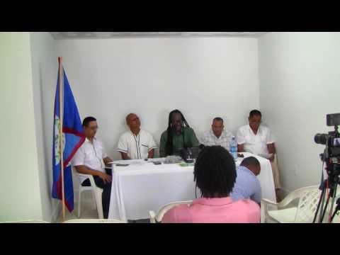 Belize Progressive Party | Press Conference | June 9 2016