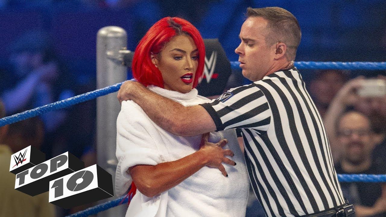 Embarrassing Superstar moments: WWE Top 10, Nov. 24, 2018