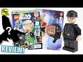 LEGO STAR WARS IMPERIAL PILOT MINIFIGURE! ISSUE 32 MAGAZINE REVIEW